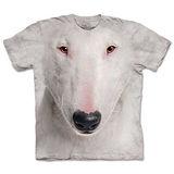 『摩達客』*大尺碼3XL*(預購)美國進口【The Mountain】自然純棉系列 牛頭梗犬臉 設計T恤