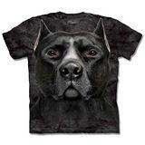 『摩達客』*大尺碼3XL*(預購)美國進口【The Mountain】自然純棉系列 黑色鬥牛犬 設計T恤