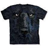 『摩達客』*大尺碼3XL*(預購)美國進口【The Mountain】自然純棉系列 黑狼臉 設計T恤