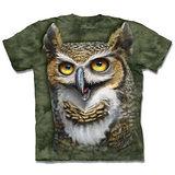 『摩達客』*大尺碼3XL*(預購)美國進口【The Mountain】自然純棉系列 貓頭鷹博士 設計T恤