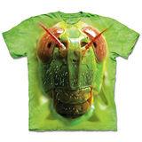 『摩達客』*大尺碼3XL*(預購)美國進口【The Mountain】自然純棉系列 蚱蜢臉 設計T恤