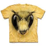 『摩達客』*大尺碼3XL*(預購)美國進口【The Mountain】自然純棉系列 蜜蜂頭 設計T恤