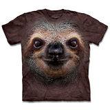 『摩達客』*大尺碼3XL*(預購)美國進口【The Mountain】自然純棉系列 樹懶臉 設計T恤