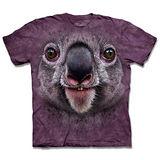『摩達客』*大尺碼3XL*(預購)美國進口【The Mountain】自然純棉系列 微笑無尾熊 設計T恤