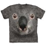 『摩達客』*大尺碼3XL*(預購)美國進口【The Mountain】自然純棉系列 無尾熊臉 設計T恤