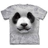 『摩達客』*大尺碼3XL*(預購)美國進口【The Mountain】自然純棉系列 熊貓胖達臉 設計T恤