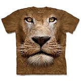 『摩達客』*大尺碼3XL*(預購)美國進口【The Mountain】自然純棉系列 辛巴獅臉 設計T恤