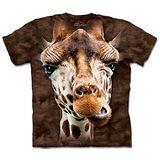 『摩達客』(預購)美國進口【The Mountain】自然純棉系列 長頸鹿 設計T恤