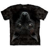『摩達客』*大尺碼3XL*(預購)美國進口【The Mountain】自然純棉系列 倒掛蝙蝠 設計T恤