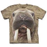 『摩達客』*大尺碼3XL*(預購)美國進口【The Mountain】自然純棉系列 海象臉 設計T恤