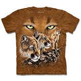 『摩達客』*大尺碼3XL*(預購)美國進口【The Mountain】自然純棉系列 尋十美洲獅 設計T恤