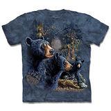 『摩達客』*大尺碼3XL*(預購)美國進口【The Mountain】自然純棉系列 尋十三熊群 設計T恤