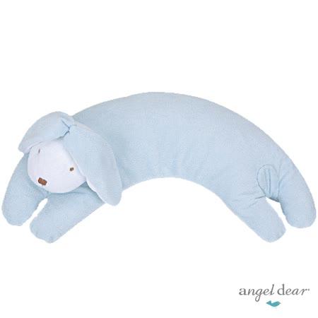 美國 Angel Dear 曲線動物大枕頭 (藍色小兔)