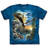 『摩達客』*大尺碼3XL*(預購)美國進口【The Mountain】自然純棉系列 尋十一鷹群 設計T恤