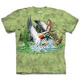 『摩達客』*大尺碼3XL*(預購)美國進口【The Mountain】自然純棉系列 尋十三鴨群 設計T恤
