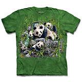 『摩達客』*大尺碼3XL*(預購)美國進口【The Mountain】自然純棉系列 尋十三熊貓 設計T恤