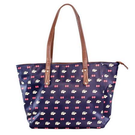 【Miffy】米菲 藍調風情系列-側肩包(深邃藍)