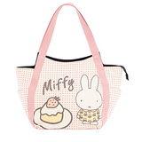 【Miffy】米菲 甜心蛋糕系列-托特包(蜜桃粉)