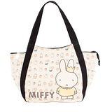 【Miffy】米菲 繽紛果漾系列-托特包(百搭黑)