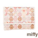 【Miffy】米菲 斑斕潮流系列(壓扣中夾)