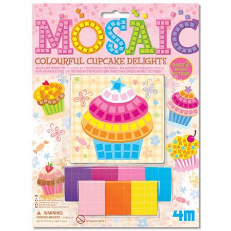 4M - 美勞創作系列 - 杯子蛋糕馬賽克 Mosaic Colourful Cupcake Delights (任選)