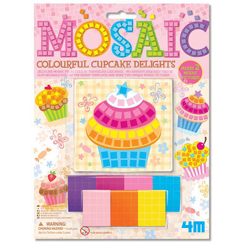 4M ~ 美勞創作系列 ~ 杯子蛋糕馬賽克 Mosaic Colourful Cupcak