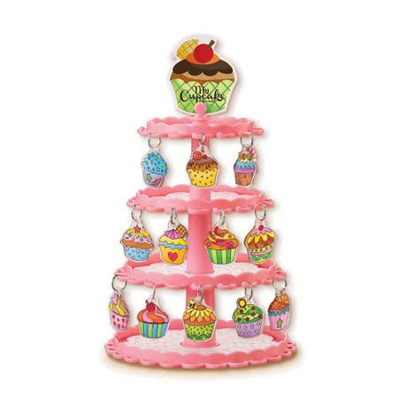 4M - 美勞創作系列 - 烤吧!歡樂杯子蛋糕吊飾 Bake It!Shrink It!Cupcake Charms (任選)