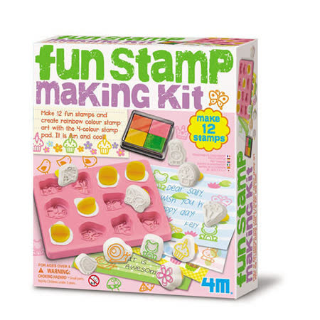 4M - 美勞創作系列 - 趣味印章創作 Fun Stamp Making Kit (任選)