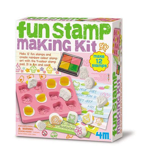 4M ~ 美勞創作系列 ~ 趣味印章創作 Fun St Making Kit ^( ^)