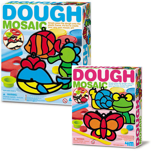 4M ~ 美勞創作系列 ~ 馬賽克黏土藝術 Dough Mosaic~Making Kit