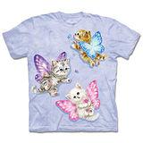 『摩達客』(預購)*大尺碼3XL*美國進口【The Mountain】自然純棉系列 蝴蝶貓仙女 設計T恤