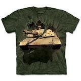『摩達客』(預購)美國進口【The Mountain】自然純棉系列 突破坦克 設計T恤