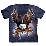 『摩達客』(預購)*大尺碼3XL*美國進口【The Mountain】自然純棉系列 展翅鷹爪 設計T恤