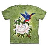 『摩達客』(預購)*大尺碼3XL*美國進口【The Mountain】自然純棉系列 愛國蜂鳥 設計T恤