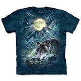 『摩達客』(預購)*大尺碼3XL*美國進口【The Mountain】自然純棉系列 夜狼協奏曲 設計T恤