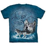 『摩達客』(預購)*大尺碼3XL*美國進口【The Mountain】自然純棉系列 凱爾特狼 設計T恤
