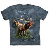 『摩達客』(預購)美國進口【The Mountain】自然純棉系列 麋鹿守護者 設計T恤