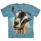 『摩達客』(預購)*大尺碼3XL*美國進口【The Mountain】自然純棉系列 山羊頭 設計T恤
