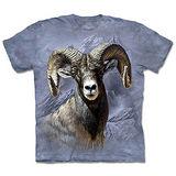 『摩達客』(預購)*大尺碼3XL*美國進口【The Mountain】自然純棉系列 大角羊 設計T恤