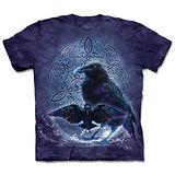 『摩達客』(預購)*大尺碼3XL*美國進口【The Mountain】自然純棉系列 凱爾特烏鴉 設計T恤