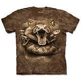 『摩達客』(預購)*大尺碼3XL*美國進口【The Mountain】自然純棉系列 蛇之眼 設計T恤