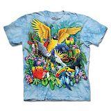 『摩達客』(預購)*大尺碼3XL*美國進口【The Mountain】自然純棉系列 熱帶鳥群 設計T恤