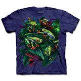 『摩達客』(預購)*大尺碼3XL*美國進口【The Mountain】自然純棉系列 紅眼蛙群 設計T恤