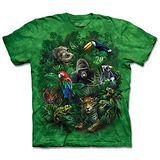 『摩達客』(預購)美國進口【The Mountain】自然純棉系列 叢林之友 設計T恤