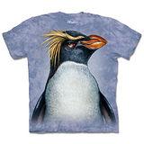 『摩達客』(預購)*大尺碼3XL*美國進口【The Mountain】自然純棉系列 長冠企鵝像 設計T恤