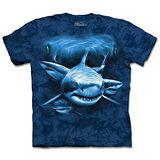 『摩達客』(預購)*大尺碼3XL*美國進口【The Mountain】自然純棉系列 鯊魚瞳 設計T恤