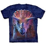『摩達客』(預購)*大尺碼3XL*美國進口【The Mountain】自然純棉系列 前進三角龍 設計T恤