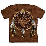『摩達客』(預購)*大尺碼3XL*美國進口【The Mountain】自然純棉系列 飛鷹捕夢網 設計T恤