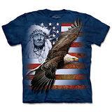 『摩達客』(預購)*大尺碼3XL*美國進口【The Mountain】自然純棉系列 美國精神 設計T恤
