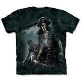『摩達客』(預購)*大尺碼3XL*美國進口【The Mountain】自然純棉系列 骷髏船長 設計T恤